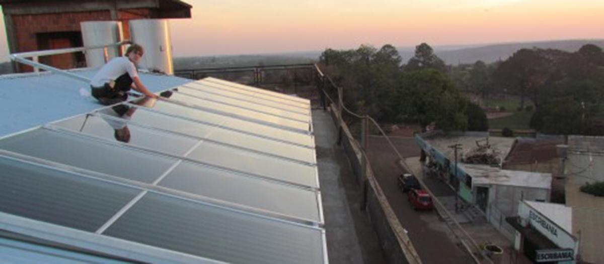 Paneles solares 'made in Misiones'