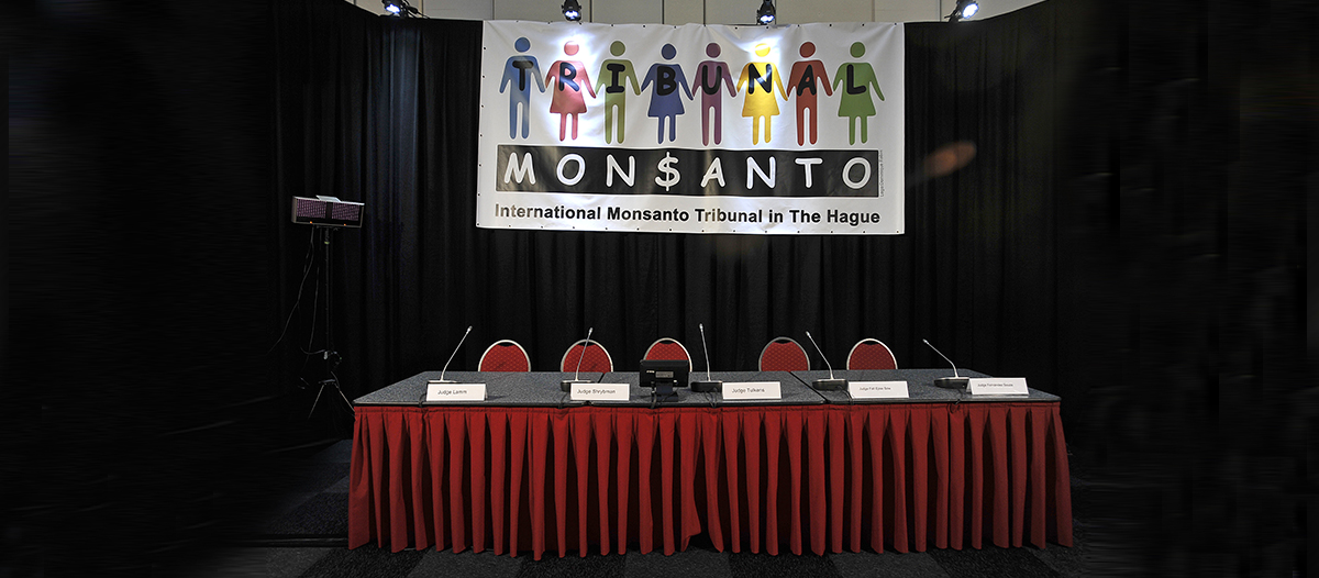 El Tribunal Internacional Monsanto expondrá su opinión legal